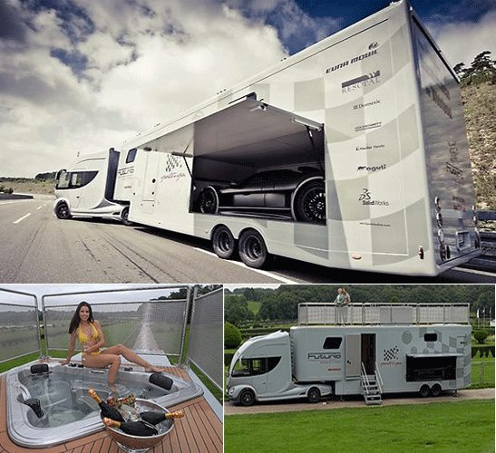 Luxury Rv Playing A New Game