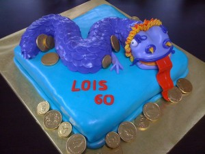 Dragon Cake by Tricia