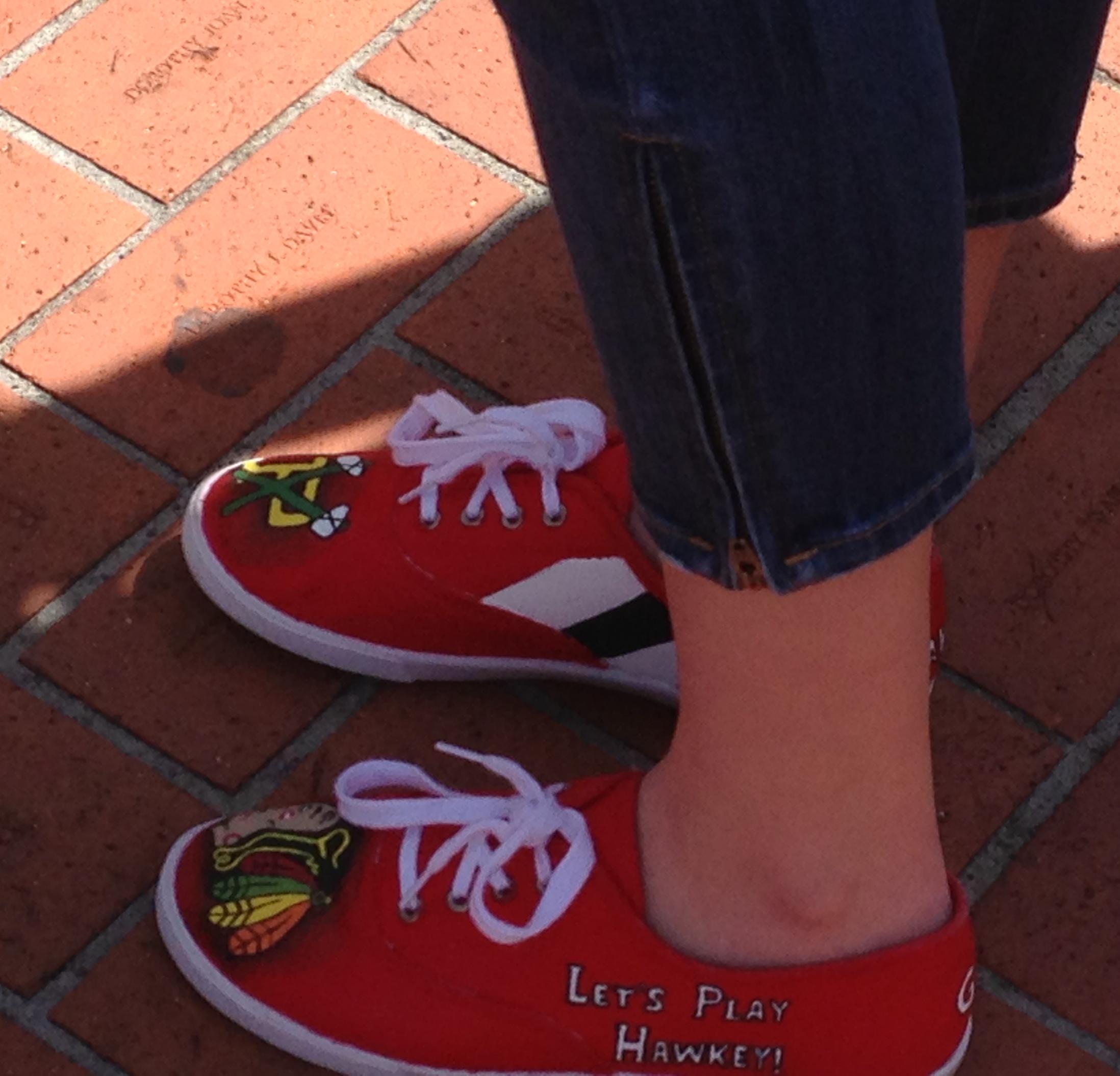 Fan shoes!
