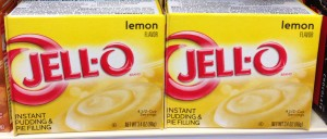 Jello Lemon Instant Pudding