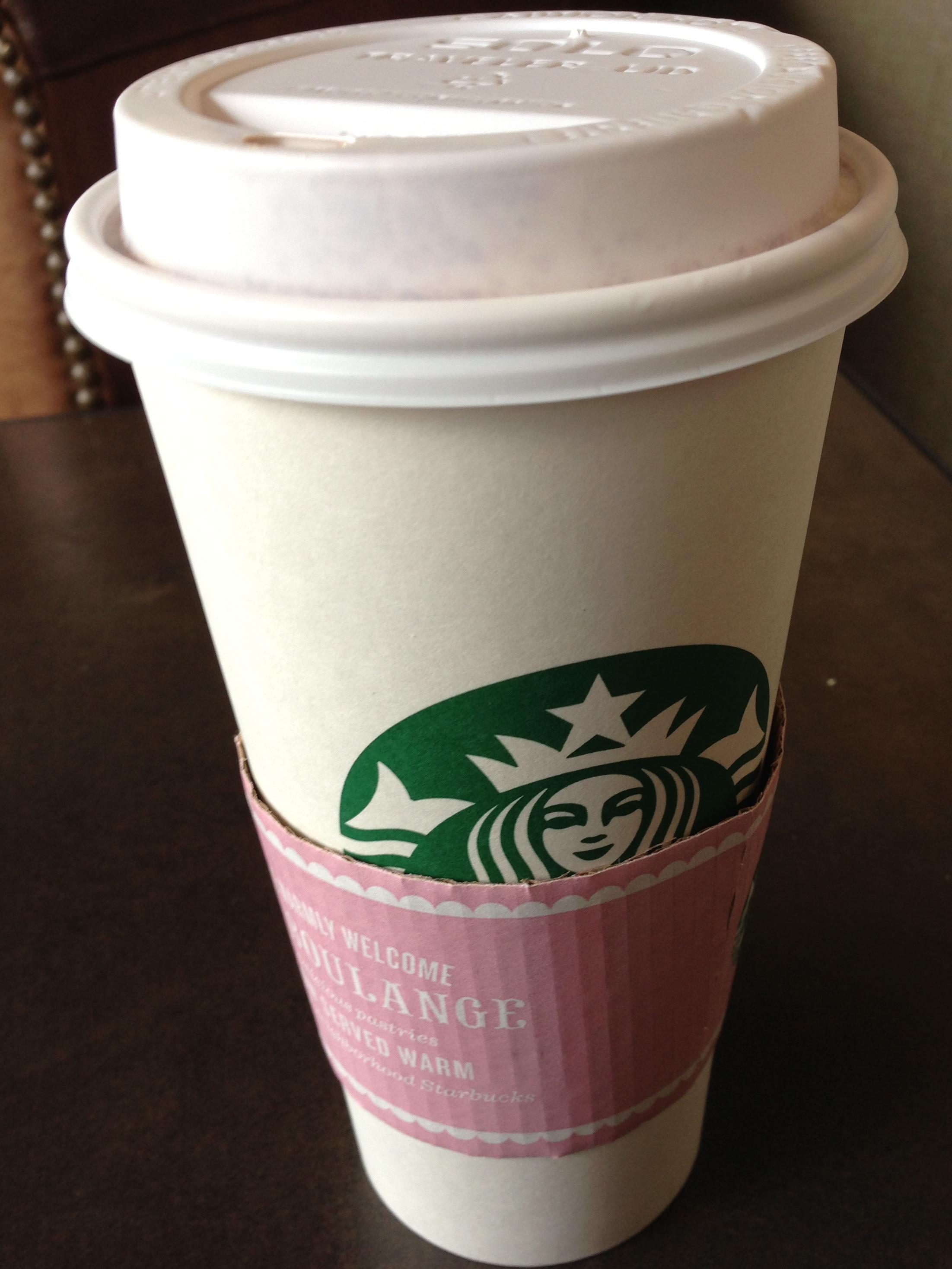 Starbucks Vanilla Rooibos Tea Latte
