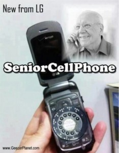 New from LG - Senior Cell Phone!