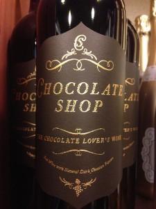 Chocolate lovers wine