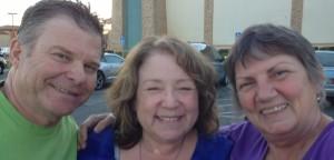Dennis, Debbie and me