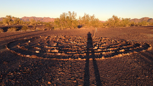 There's a New Labyrinth Near Quartzsite, Arizona