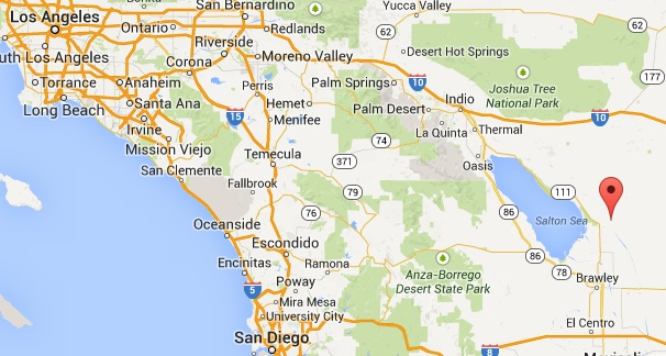 slab city california map california map