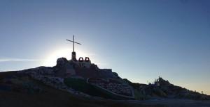 Sunrise at Salvation Mountain