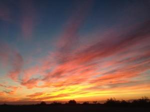 Sunset at Slab City