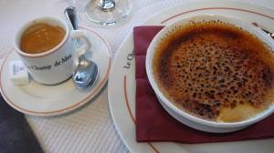 Crème brûlée & espresso
