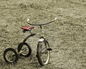 Vintage tricycle - photo from the internet