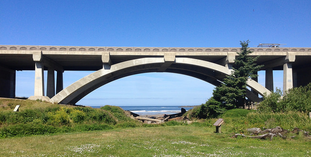 Highway 101 bridge