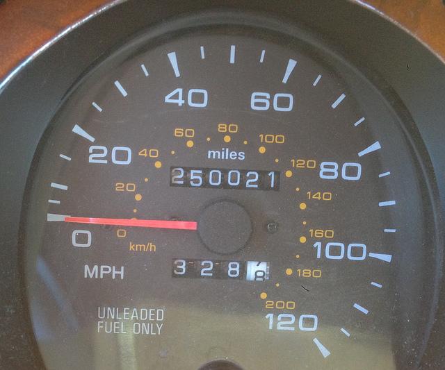 250,000 miles!
