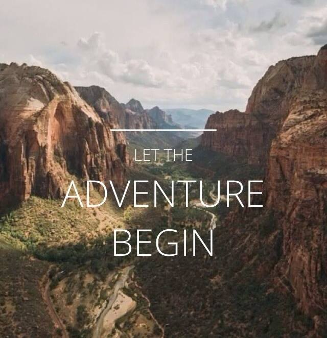 Let the Adventure Begin