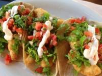 3 shrimp tacos
