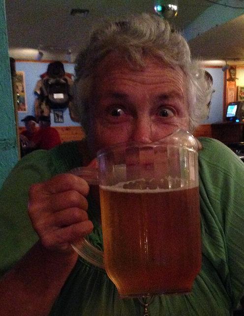 Charlene's beer