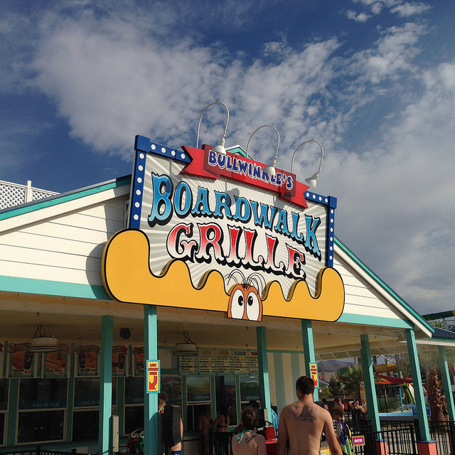 Cowabunga Bay Boardwalk Grill