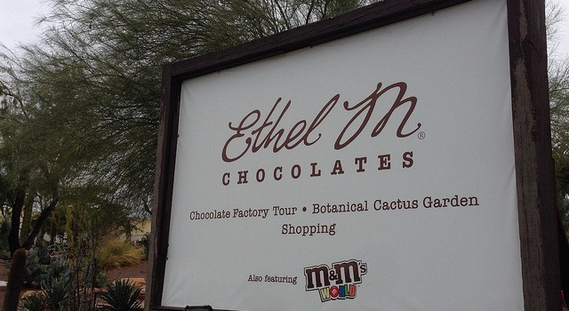 Ethel M sign
