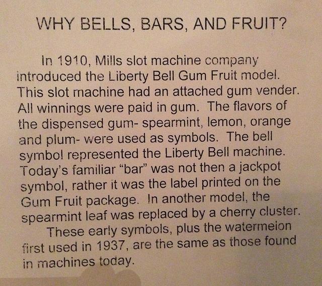 why bells bars fruit