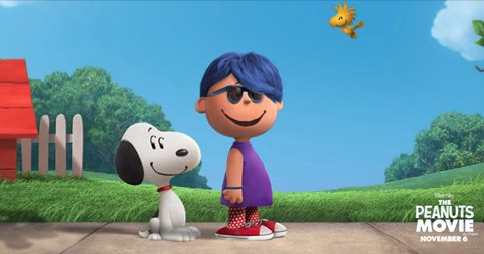 me in Peanuts-land