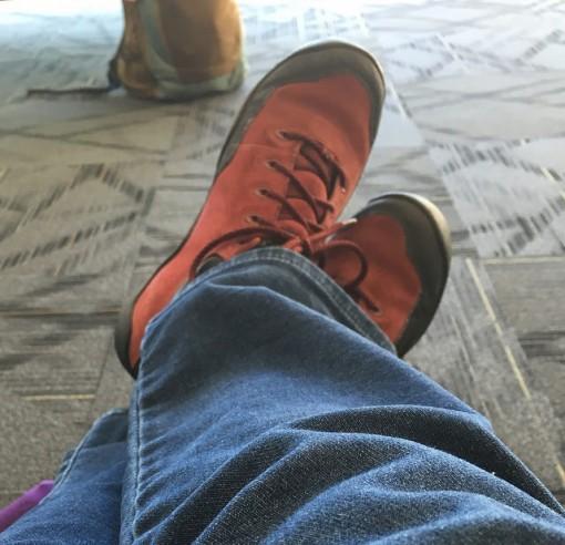 Airport feet