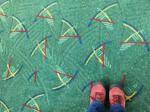 Arriving back in Portland
