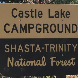 Camping at Castle Lake in Northern California