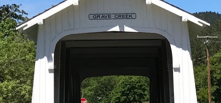 A Stop at Grave Creek Covered Bridge